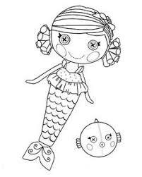 lalaloopsy doll coloring kids printable free