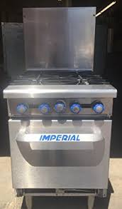 imperial convection oven pilot light amazon com imperial commercial restaurant range 24 with 4 burners