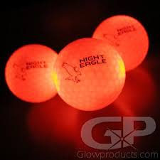 light up golf balls bright red led glowing golf balls professional lighted golf balls