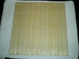 stuoia bamboo sushi a casa tua a che cosa serve la stuoia