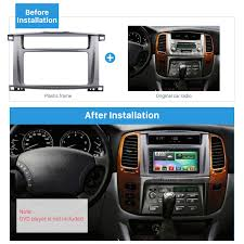 lexus is dvd player 202 102mm double din 1998 2008 toyota land cruiser 100 lexus lx