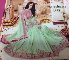 pink colour combination dresses amazing contrast colour combination vigneshwara silks in hyderabad