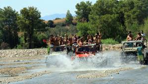 jeep water portugal rocks albufeira jeep safari