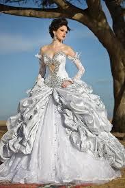 sexey wedding dresses handmade bridal gown with swarovski sw022