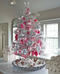 exciting white and silver christmas tree decorations wondrous