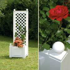 planter box with trellis 43 cm