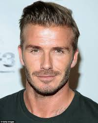 what hair styling product does beckham david beckham s is the hair most uk men envy while gary barlow