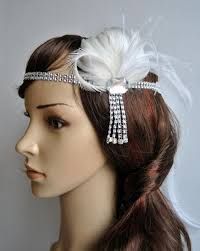 great gatsby headband the great gatsby headband 1920s headpiece flapper feather