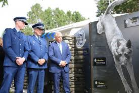 memorial for police dogs killed in line of duty otago daily