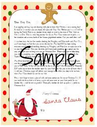 personalized letter from santa free personalized santa letter program for 2014 enchanted