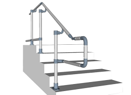 Commercial Handrail Height Code Ada Railings And Handrails Osha Compliant