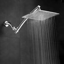 rain shower head system aquagenix razor mega size 9