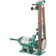 Bench Buffing Machine Knife Belt Sander Buffer Grizzly Industrial