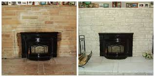 Fireplace Brick Stain by Fireplace Decorating Our Brick Eyesore No Longer An Ugly Duckling