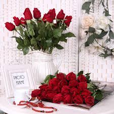 fake artificial decorations silk bouquet wedding home
