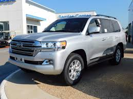 2017 new toyota land cruiser 4wd at toyota of fayetteville serving
