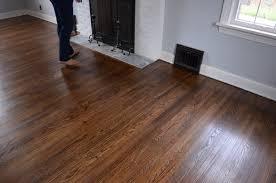 Water Under Laminate Flooring Ugly Floors Be Gone Refinishing Our Hardwood Floors Poeticlaughter