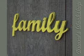 family sign diy wedding decoration wall hanging cottage wooden