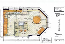floor plans for kitchens triangle concept in kitchen cool kitchen floor plans home design