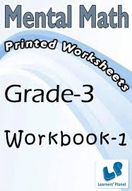 grade 3 mental math workbook 1 printed book interactive books