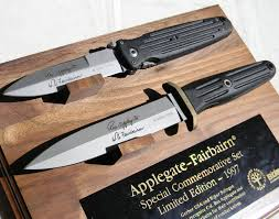 gerber kitchen knives boker knives applegate fairbairn 1997 commemorative set