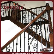 metal landing banister and railing iron spindles for interior stairs interior wrought iron stair