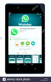 instant app for android tablet whatsapp messenger instant messaging app on an android tablet pc