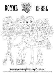 ever after high coloring page family planner printables