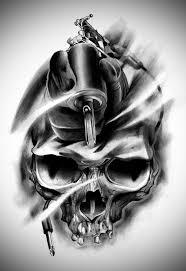 tattoo design eli u0027s skull by badfish1111 deviantart com on