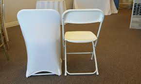 ivory spandex chair covers chair covers lake party rentals