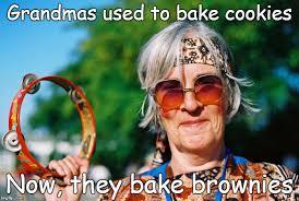 Hippie Memes - old hippie lady imgflip