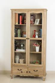 trade american country wood dining side cabinet old retro lockers