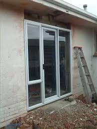 Framing Patio Door Exterior Patio Door Installed Without Header Or King Stud