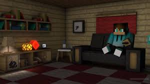 minecraft modern living room furniture with just one command