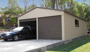 double car garage double garages the shed company