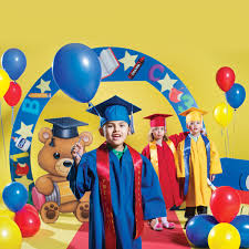 preschool graduation decorations preschool and kindergarten graduation decorations rhyme s