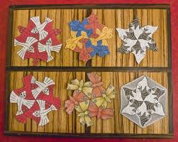 mathematical holiday ornaments escher