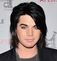 hair styles from singers adam lambert long hairstyle see here singer hairstyles