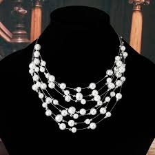 new fashion necklace images 2017 new fashion jewelry gold color multilayer chain imitation jpg