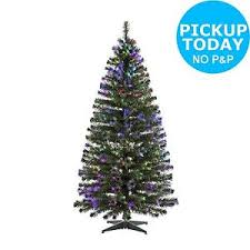 home 6ft fibre optic christmas tree green from the official