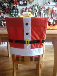 Snowman Chair Covers Christmas Chair Covers