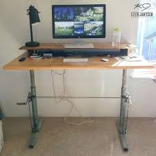 do it yourself standing desk build a standing desk getrewind co