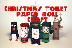 recycled toilet paper roll craft decorations diy christmas tree