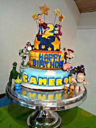 toy story tiered fondant cake cake pop insanity