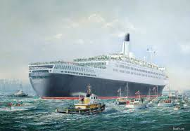 queen elizabeth ii u0027 returns to southampton with troops from the