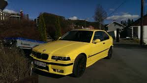 bmw e36 316i compact my car 1997 bmw 316i compact not best color or engine but
