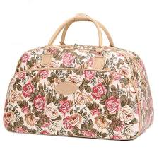 womens travel bags images New arrival fashion women luggage handbag large capacity floral jpg