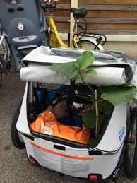 siege pour remorque velo globetrekkeuse voyage nature défi sans ma voiture vélos