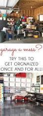 one room challenge organized garage makeover blue i style