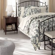 Contemporary Bedroom Furniture Design Porto Metal Bed By Crate - Crate and barrel bedroom furniture